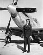 Rosa Lea with P-51