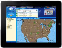 AOPA Weather on the iPad