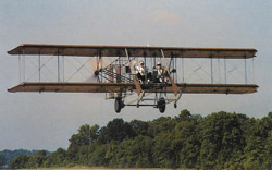 A replicas of the famous 1910-1913 Wright B Flyer