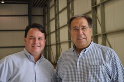 Indiana Secretary of State Todd Rokita and AOPA President Craig Fuller