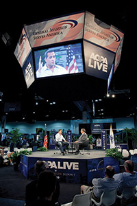 AOPA Live stage at Aviation Summit