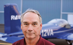 Mitch Lock built the RV-12 in 555 hours