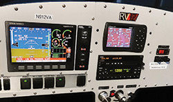 Van's RV-12 Dynon display panel