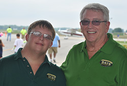 Brian and Ted von Eiff enjoyed their fifth consecutive fly-in.