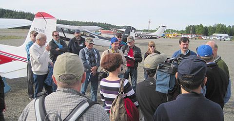 Russian aviation officials see firsthand GA at work