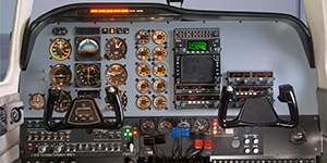 SimCom Beech Baron or Cessna 300/400 series training package