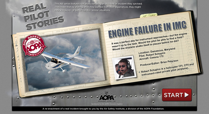 Engine Failure in IMC