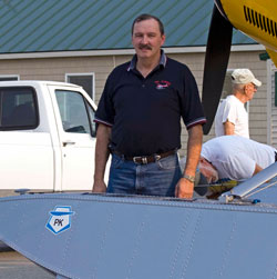 PK Floats Inc. owner Alton Bouchard said a backlog of orders has started to build, and he's hired extra help to keep up as demand rebounds with a recovering economy. Photo courtesy PK Floats, Inc.