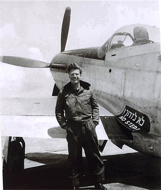 Mitchell Flint flew several aircraft for Israel