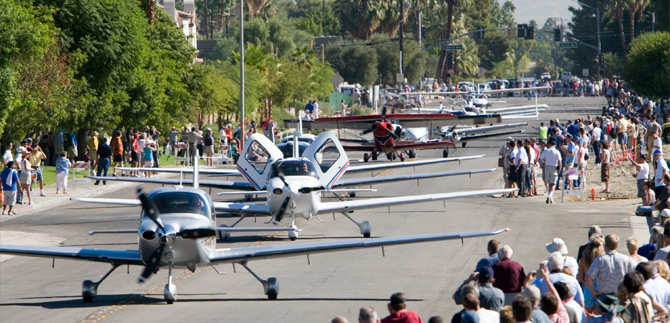 AOPA Aviation Summit Parade of Planes