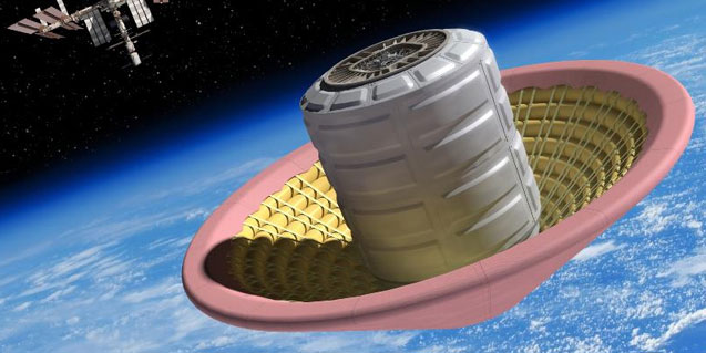 spacecraft heat shield