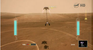 mars rover video game