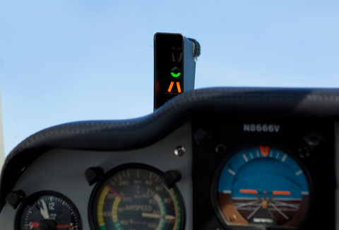 angle of attack indicator