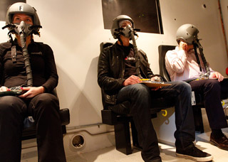 The standard altitude chamber training includes a trip to 25,000 feet to experience the onset of hypoxia.