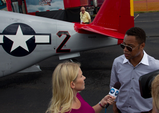 Red Tails movie star Cuba Gooding Jr.