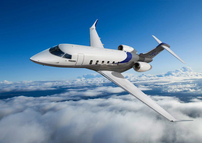 Challenger 350 image courtesy Bombardier Aerospace.