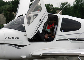 Gabriel Silverstein had his Cirrus searched twice by federal agents during a recent coast-to-coast round trip. Contributed photo.