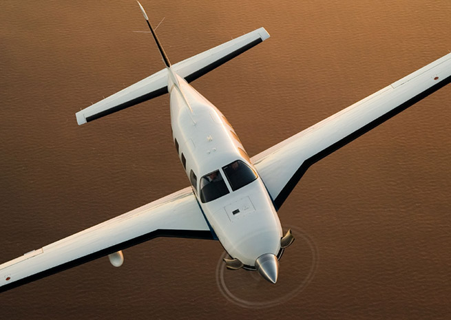 Piper's Meridian turboprop may find a new market in flight training.
