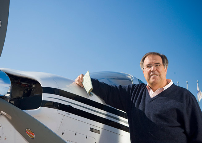 Craig Fuller was appointed chairman of the Redbird Flight Simulation's board in October.