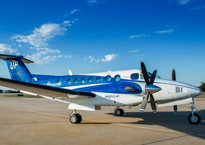 The first 35 Beechcraft King Airs will be delivered to Wheels Up by mid-2015.