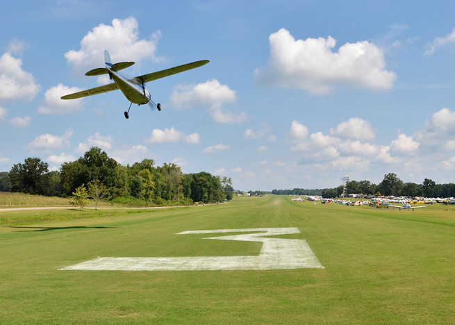 "Some refer to the fly-in as ""the Augusta National of Aviation."""