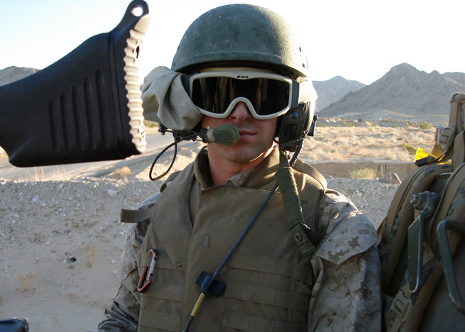 Kinard chose the infantry over aviation and led a platoon in Iraq in 2006.