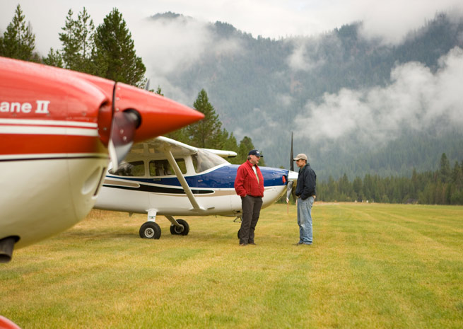 Backcountry airstrip