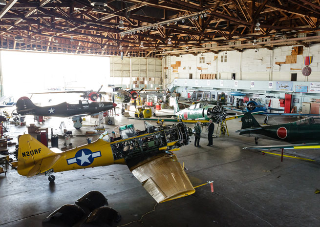 Aircraft from the Commemorative Air Force will be on display and giving rides during the AOPA Fly-In at San Marcos on April 26.