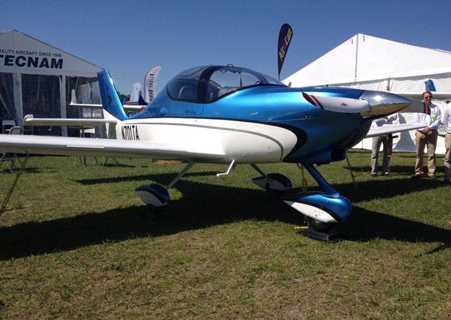 Tecnam is seeking to expand its presence in the United States with the Astore light sport aircraft.