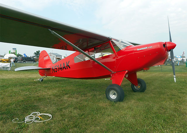 Bearhawk's light sport kit at EAA AirVenture. Photo courtesy of Bearhawk Aircraft.