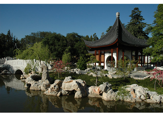 Chinese Garden at The Huntington Library, Art Collections, and Botanical Gardens. Copyright The Huntington Library, Art Collections, and Botanical Gardens.