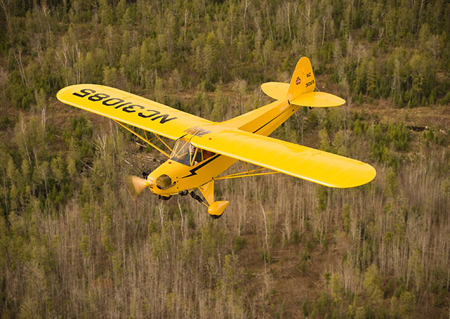 The Piper J-3 Cub is named the official aircraft of Pennsylvania.
