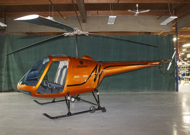 A mock-up of Enstrom's TH180