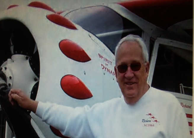 Pilot Richard Smith supports the driver's license medical bill introduced in Congress.