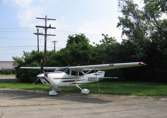 The Flying Neutrons fleet includes a Cessna 182T, and five other aircraft.