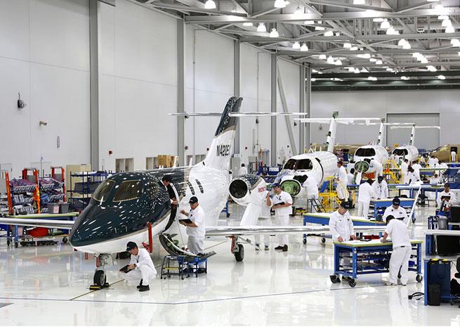 Honda Aircraft Co. is preparing to begin ground tests on the first production aircraft. Honda Aircraft Co. photo.