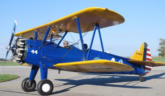 Commemorative Air Force Boeing PT-17 Stearman Kaydet. Photo by Mike Meister.