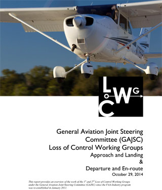 Click to read the report issued by the Loss of Control Working Groups.