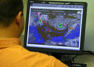 Pilots can find a wealth of weather information on the Internet.