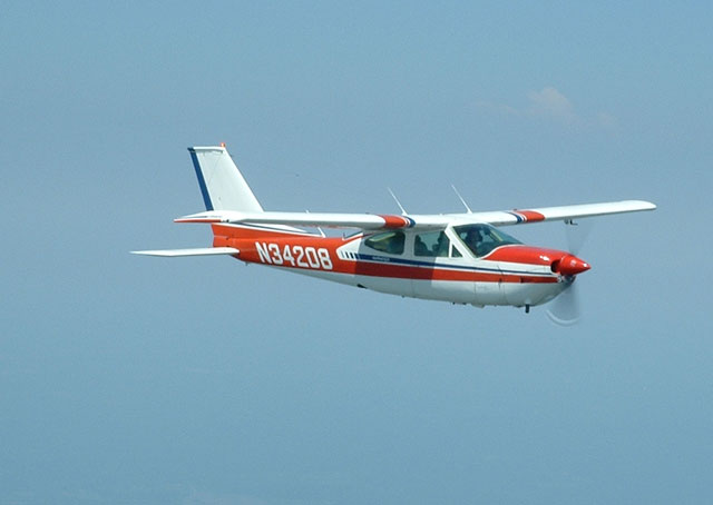 The Hokie Flying Club's Cessna Cardinal.