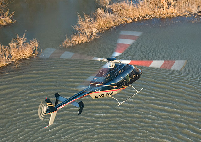 A Bell 407. AOPA file photo.