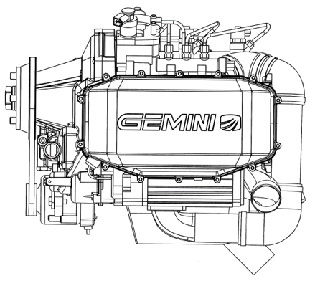 Gemini engine from Superior Aviation