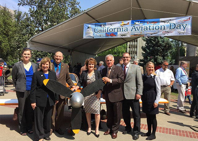 AOPA engaged with state legislators in California.