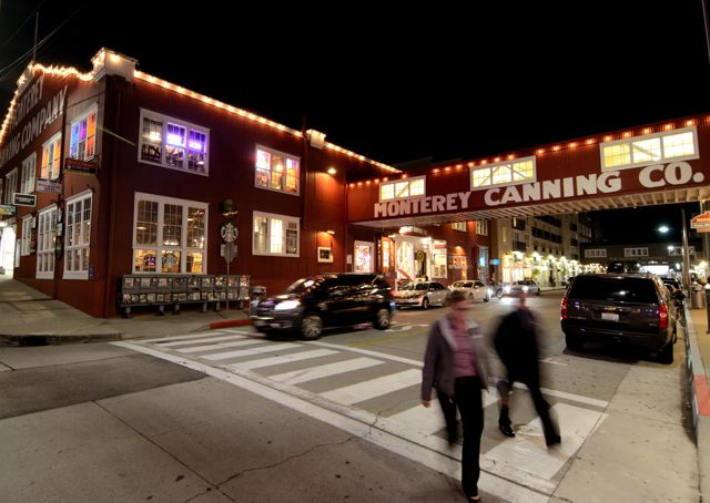 Cannery Row offers a variety of dining and night life.