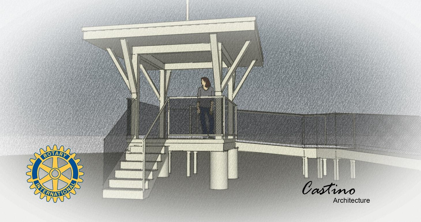 The design for the Rotary Aviation Zone. Graphic courtesy Jim Castino.