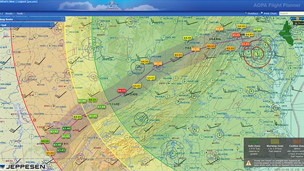 AOPA releases new versions of flight planning tools