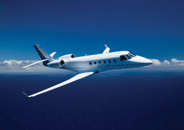 Gulfstream selects a Garmin ADS-B Out solution. Image courtesy of Garmin.