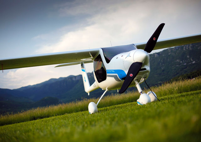 The Alpha Electro has been in development for more than two years and has secured European certification, is pursuing light sport aircraft certification in the United States.