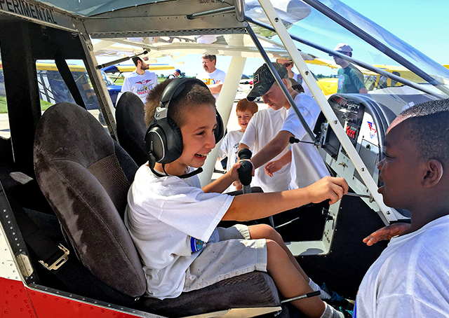 Zenith helps Cub Scouts jump into aviation.