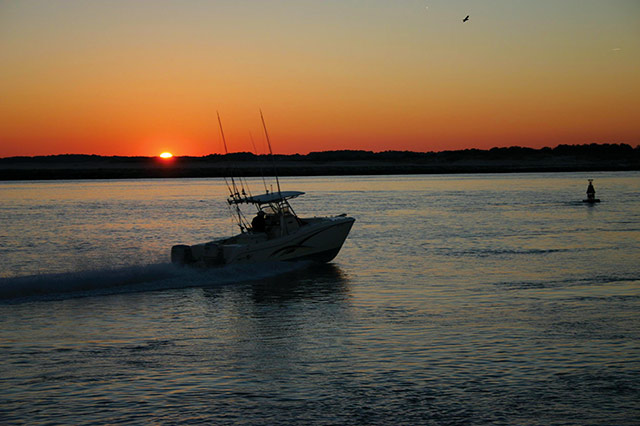 "Ocean City is known as the ""White Marlin Capital of the World."" Photo courtesy of Town of Ocean City Tourism Office."